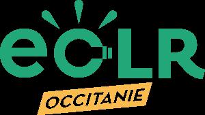 Logo ECLR Occitanie, association énergie renouvelable citoyenne